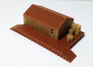 Outland Models Modelleisenbahn Miniatur Lager / Güterbahnhof Spur N 1:160
