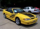 1995 Ford Mustang 57K Boss Shinoda 302 5.0L GT CONVERTIBLE V8 AUTO ROADSTER HARP FACT CHROME YELLOW LEATHER MACH CD COLD AC AUTO COMP 2 SHELBY SALEEN ROUSH