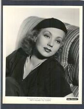 GORGEOUS ANN SOTHERN PORTRAIT - NEAR MINT COND 1937 - FIFTY ROADS TO TOWN