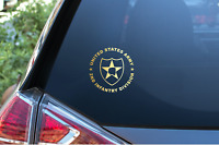 US Army 2nd Infantry Division Decal Sticker Veteran Window Laptop Patch Badge