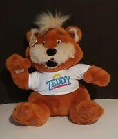 """Vintage Zeddy 14"""" Zellers Plush Teddy Bear **GREAT SHAPE!!**"""