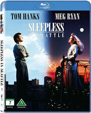 Sleepless in Seattle NEW Cult Blu-Ray Disc Nora Ephron Tom Hanks Meg Ryan