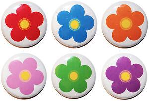 Daisy / Flower Fridge Magnets - PASTEL or VIBRANT - Gift & Kitchen