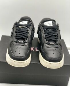 "Nike Air Force 1 Low LX "" Inside Out Black "" Size UK 7 Jordan / LeBron"