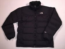 THE NORTH FACE 550 BLACK GOOSE DOWN PUFFER JACKET MEN'S TAG SIZE LARGE