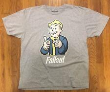 NEW | Men's Fallout 4 Vault Boy T-Shirt | Size XL | Gray | Bethesda