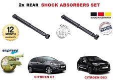 Per CITROEN C3 MK2 DS3 + Cabrio 2009 -- > sulla parte posteriore ammortizzatore Shocker Set