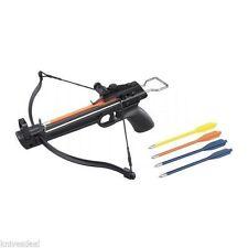 80 Pound Crossbow Arrow Bolt Set Compact Survival 50 75 100 150 175 200 250 225