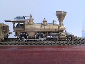 """Virginia & Truckee 4-4-0 HO scale brass steam locomotive """"RENO"""" No. 11"""