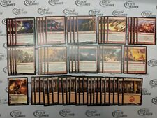 60 Card Deck - MONO RED LAND DESTRUCTION - Modern -Ready to Play - Magic MTG FTG