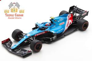 Alpine F1 Team A521 E. Ocon -Bahrain GP 2021 - 1:18 - Spark