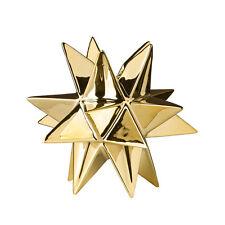 Bloomingville Kerzenhalter für Stabkerzen Stern gold