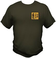 ASL Advanced Squad Leader Personalized British Leader SMC Counter T shirt WWII