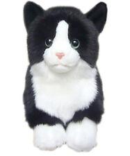 "Faithful Friends Black & White 12"" Soft Toy Cat/Kitten"