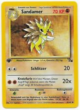 Sandamer 41/62 - Fossil 2000 - 1.Edition - Pokemon - Uncommon - Deutsch - Mint