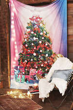 Christmas Tree Tapestry Retired 56 x 84 Holiday Winter New Urban Outfitters 742