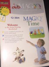 MagIQ Time, DVD + Travel Audio CD (12-36m)
