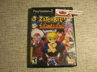 ZatchBell! Zatch Bell: Mamodo Fury PS2 PlayStation 2 Anime Adventure Game