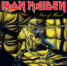IRON MAIDEN PIECE OF MIND CD in Jewel Case Booklet Album New Sealed Steve Harris