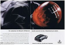 PUBLICITE ADVERTISING 105  1993  RENAULT 19 BACCARA (2p)