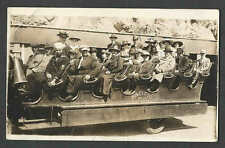 Ca 1914 RPPC* VINTAGE PACIFIC #15 OPEN SIDE & NO ROOF EARLY SIGHTSEEING SEE INFO