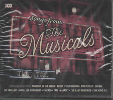 Songs from the les comédies musicales 3 CD BOX NEUF Phantom of the Opera Cats Lion King Grease