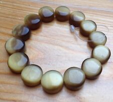 Lovely Retro Tigers Eye Glass Bead Bracelet/New/Accessorize Monsoon/Hippy Boho