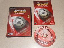 CHAMPIONSHIP MANAGER 01 / 02 2001 2002 CHAMP FOOTBALL SOCCER CM PC CD ROM MANGER