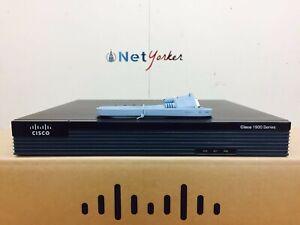 Cisco CISCO1921-SEC/K9 - 1921 Gigabit Router - 1 YEAR WARRANTY - SAMEDAYSHIPPING