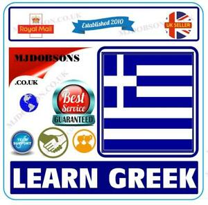 Greek Listen & Learn Greek Language Courses  MP3 Audio & Text Free Postage