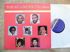 """""""Pops We Love You""""...- Stevie Wonder, Diana Ross, Commodores, Marvin Gaye – LP"""