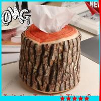 porta rotolo carta igienica arredo accessori bagno finto legno da viaggio borsa