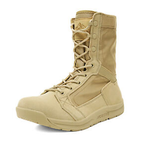 Men's Military Tactical Combat Army Boots Lightweight Outdoor Hiking Work Boots