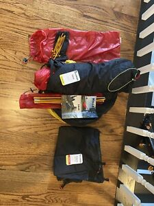 Hilleberg Enan solo 1 person backpacking bikepacking 3 season light tent