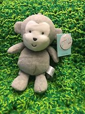NWT Precious Firsts Carters Gray Monkey Plush Target Stuffed Lovey Toy 66839 NEW