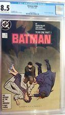 BATMAN # 404 CGC CGC 8.5 YEAR ONE PART 1 1987 FRANK MILLER