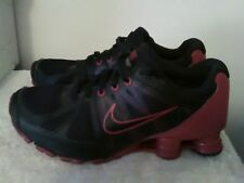 nike red and black shocks
