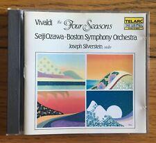 Vivaldi - The Four Seasons CD Telarc Digital. Seiji Ozawa