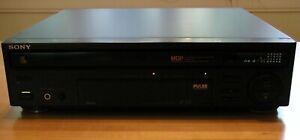 "Sony MDP-455 3"" 5"" 8"" 12"" Multi Disc LD CD CDV Laserdisc Player PARTS"