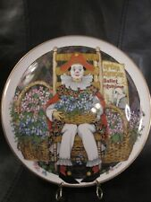 Royal Doulton Behind The Painted Masque ~ Feelings Plate Ltd Ed. 1982 Ben Black