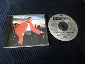 CD Freddie Jackson - Just Like The First Time 1986 Capitol NO BARCODE