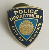 Police Department City Of New York Support Lapel Pin Badge Rare Vintage (R1)