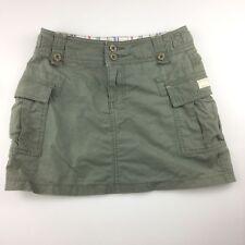 Girls size 12, Just Jeans, khaki cotton cargo skirt, GUC