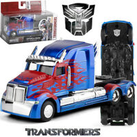 JADA METALS 1: 32 TRANSFORMERS 5 OPTIMUS PRIME WESTERN STAR 5700 XE DIECAST CAR