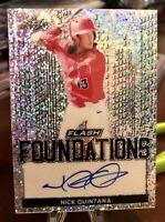 2019 Leaf Flash Nick Quintana Flash Foundations Auto - Red Sox