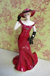 """ROYAL WORCESTER   Premiere Figurine of the Year 2002  """" Diana """"    22cm High"""