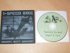 1 Speed Bike - Droopy Butt Begone (CD) 8 Tracks - CST014 - Nr Mint - Fast Post