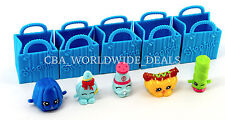 NEW Shopkins Season 1 - Set of 5 Figures with Shopping Bags - LOOSE