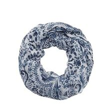 Women's Floral Snood Scarves and Shawls