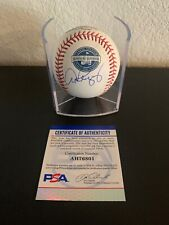 Alex Rodriguez Signed 2009 Yankee Stadium Inaugural Season Baseball PSA/DNA